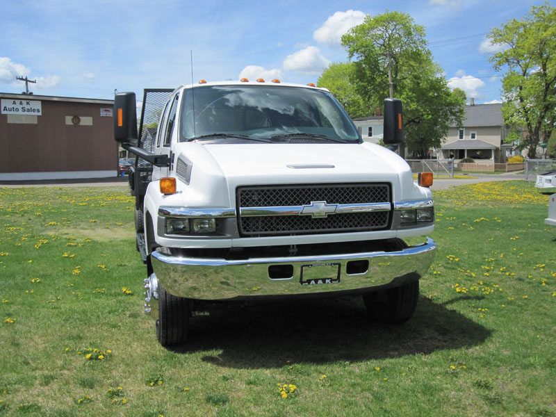 Sell used 2005 CHEVY KODIAK C4500 4X4 CREW CAB FLATBED 4WD ...