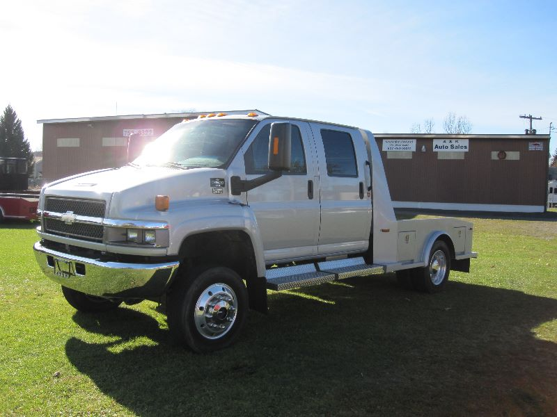 Find Used 2006 Chevy Kodiak C4500 4x4 Crew Cab Hauler 4wd