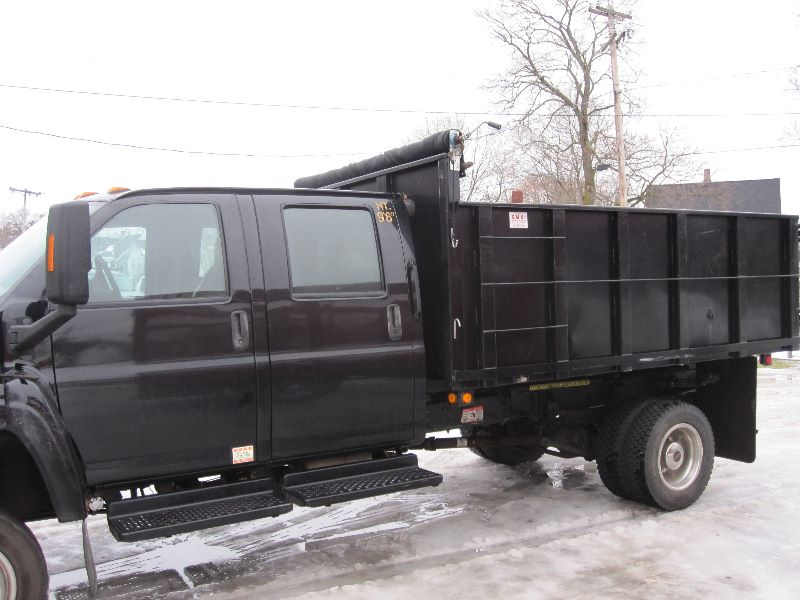 Purchase used 2006 CHEVY KODIAK C5500 4X4 CREW CAB 12 FT ...