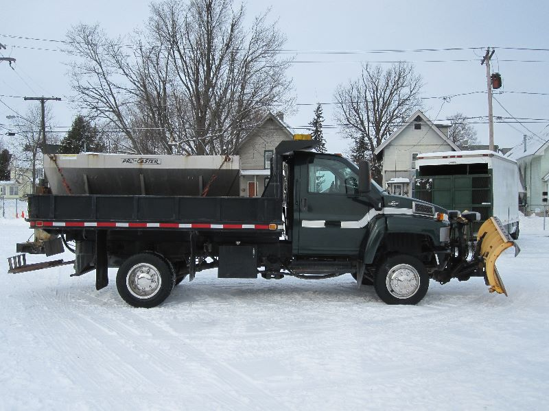 Purchase used 2006 CHEVY KODIAK 4WD C4500 4X4 W/12 DUMP ...