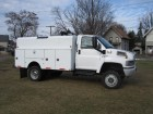 2005 GMC TOPKICK KODIAK C5500 4WD REGULAR CAB 4X4 W/ UTILITY BOX 6.6L DURAMAX TURBO D