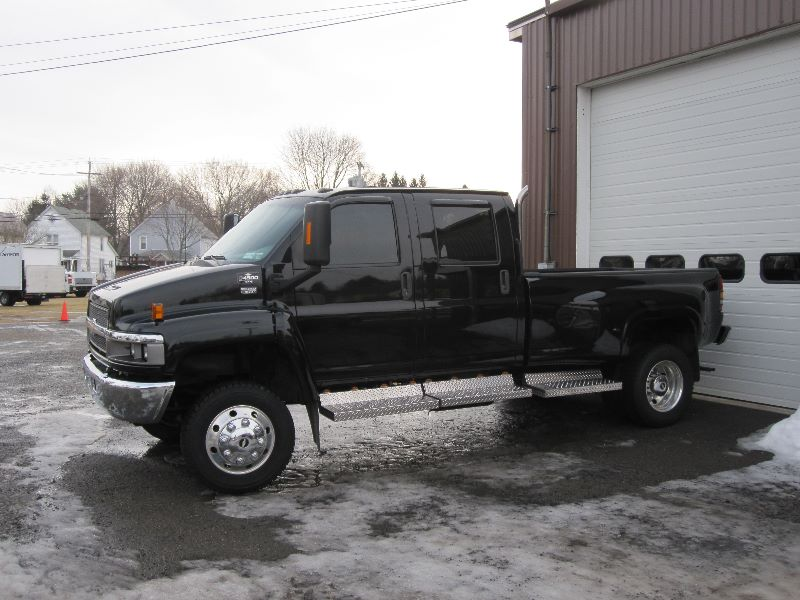 Gmc 4500 For Sale Crew Cab 4x4 Conversion Autos Post 2006 Gmc C4500 Topkick Kodiak Crew Cab 4x4 Duramax Monroe ...