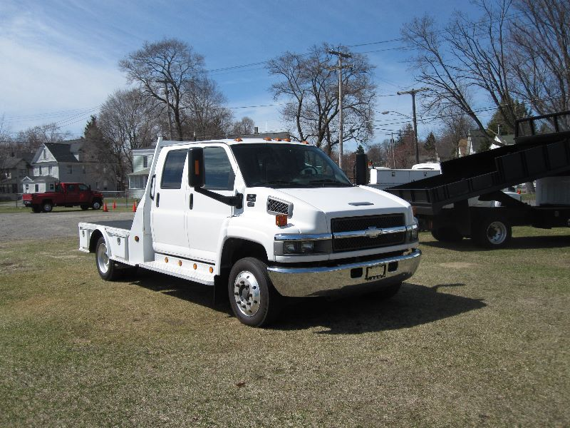 2007 CHEVROLET KODIAK C4500 CREW CAB WESTERN HAULER TYPE BED For Sale ...