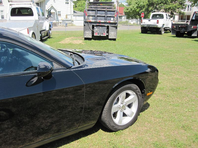 2012 DODGE CHALLENGER R/T 2 DOOR BLACK HARDTOP COUPE