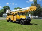 2006 INTERNATIONAL 7300 REGULAR CAB 4X4 W/60 FT HI RANGER BUCKET TRUCK DT466 TURBO DIESEL MOTOR