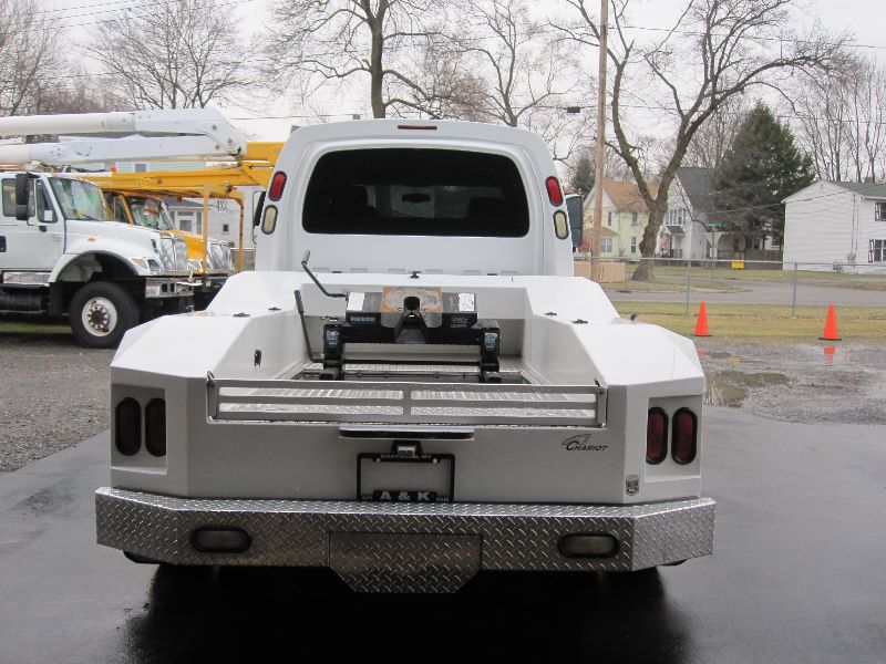 C4500 CREW CAB W/WESTERN HAULER BED & CHARIOT CONVERSION For Sale ...