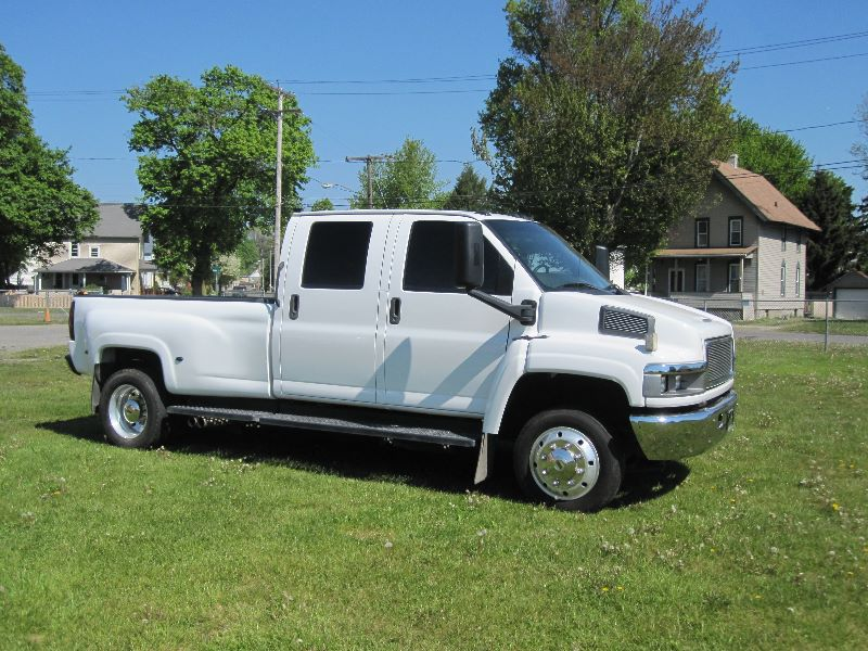 Gmc Topkick C4500 For Sale >> 2005 GMC TOPKICK KODIAK C4500 CREW CAB W/MONROE CONVERSION For Sale | A&K Auto - The Diesel Dude ...