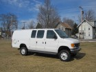 2006 FORD E-350 XL 4WD EXTENDED CARGO VAN WITH A QUIGLEY 4X4 SYSTEM 4WD W/V8 5.8L GAS MOTOR