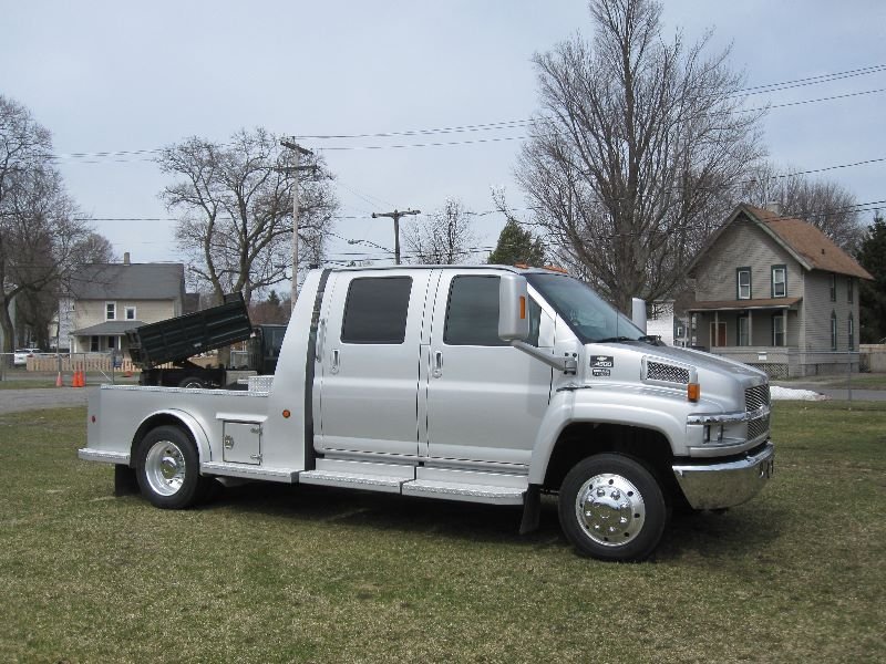 2006 CHEVROLET KODIAK C4500 2WD CREW CAB CONVERSION W/ HAULER BED