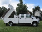 2004 1/2 GMC TOPKICK KODIAK C4500 CREW CAB -11 FT UTILITY BED & CENTER DUMP 6.6L DURAMAX DIESEL LLY