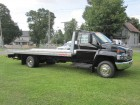 2009 GMC TOPKICK C5500 REGULAR CAB W/ 21 FT ALUMINUM ROLLBACK BODY 8.1L GAS MOTOR 2WD