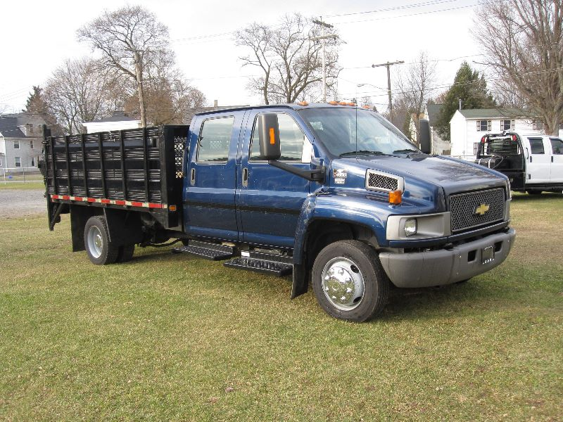 C4500 For Sale >> 2007 CHEVROLET KODIAK C4500 CREW CAB W/ 12 FOOT STAKERACK & LIFTGATE For Sale | A&K Auto - The ...