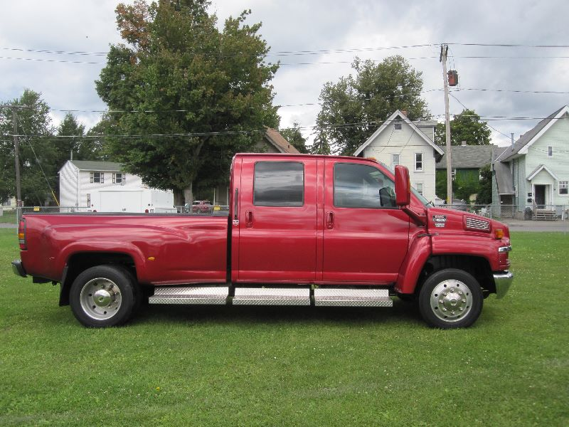 Gmc Topkick C4500 For Sale >> 2006 GMC TOPKICK KODIAK C4500 CREW CAB W/MONROE CONVERSION & BED For Sale | A&K Auto - The ...