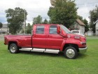 2006 GMC TOPKICK KODIAK C4500 CREW CAB W/MONROE CONVERSION & BED 6.6L DURAMAX TURBO DIESEL