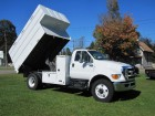 2012 FORD F-750 XL REG CAB W/ ALTEC 14 FT TALL CHIPPER DUMP BOX 6.7L CUMMINS TURBO DIESEL MOTOR