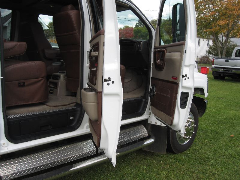 2007 GMC TOPKICK KODIAK C4500 CREW CAB CONVERSION W/ HAULER BED
