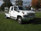 2007 GMC TOPKICK KODIAK C4500 CREW CAB CONVERSION W/ HAULER BED DURAMAX TURBO DIESEL MOTOR ONLY