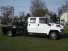 2005 CHEVROLET KODIAK C5500 CREW CAB W/ 10 FT FLATBED 6.6L DURAMAX TURBO DIESEL MOTOR ONLY