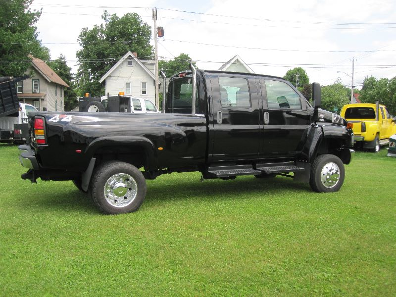 2005 GMC TOPKICK KODIAK C4500 4X4 CREW CAB 4WD MONROE CONVERSION & BED