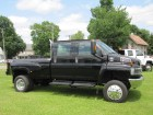 2005 GMC TOPKICK KODIAK C4500 4X4 CREW CAB 4WD MONROE CONVERSION & BED DURAMAX TURBO DIESEL