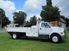 2012 FORD F-750 XL REGULAR CAB W/ 16 FT BED & AUTO CRANE 6.7L CUMMINS TURBO DIESEL MOTOR