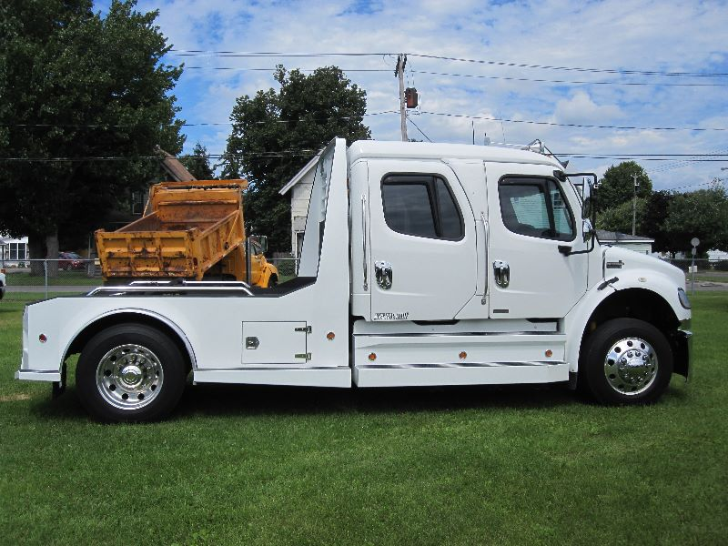 2012 FREIGHTLINER SPORTCHASSIS  CREW CAB WESTERN HAULER CONVERSION & BED