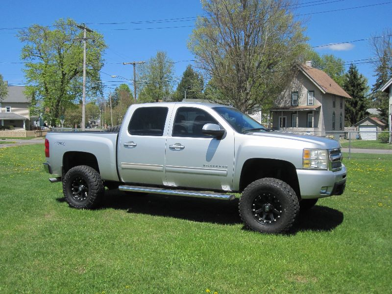 6 Inch Lift Kit For Chevy 1500 4wd >> 2010 Chevrolet Silverado Ltz 4x4 Crew Cab W Short Box 6