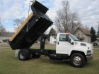 2006 GMC C8500 REGULAR CAB W/ 14' FOOT PTO DUMP BOX  - 6 CYL - 7.8L DURAMAX TURBO DIESEL