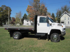 2005 CHEVROLET KODIAK C4500 4X4 REGULAR CAB W/ 11 FT FLATBED 6.6L DURAMAX TURBO DIESEL MOTOR